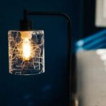 personalized map lamp