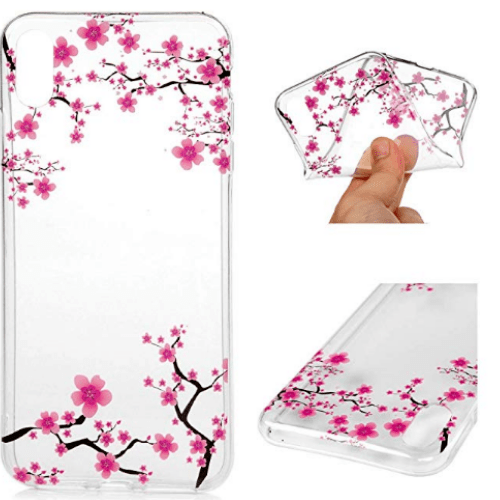 Crystal Clear Soft Gel Skin for iPhone Xs