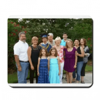 Family Personalized Mouse Pad