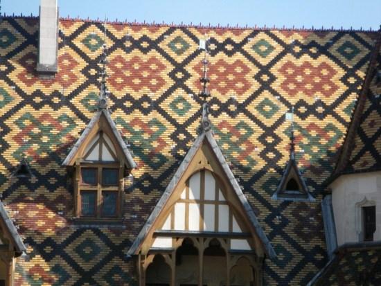 Les toits des hospices de Beaune