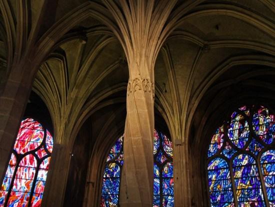 Colonnes de l'Eglise SaintSéverin
