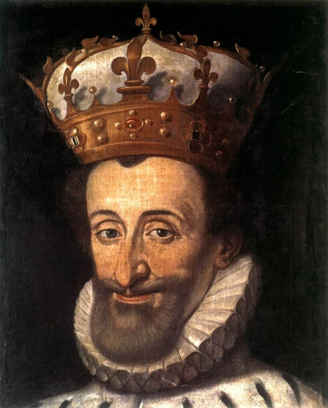 Portrait d'Henri IV par Sandi di Tito - 1600