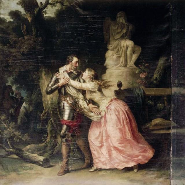 Henri IV quitte Gabrielle d'Estrées