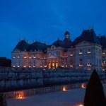Le Chateau de Vaux le Vicomte aux Chandelles