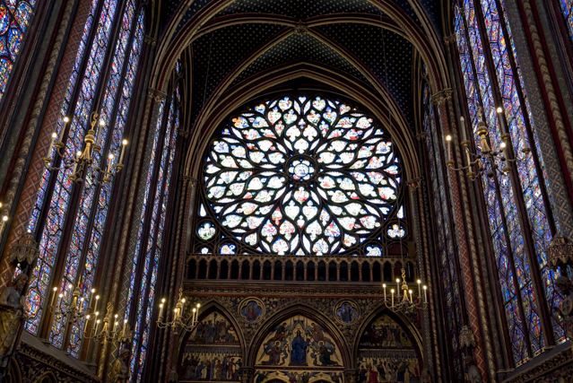Rose occidentale de la Sainte-Chapelle