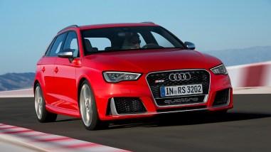 Neuer Audi RS3 Sportback mit Fünfzylinder