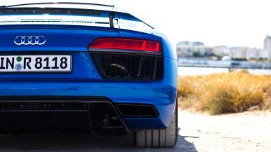 2016 Audi R8 V10 plus in Arablau