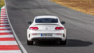 Mercedes-AMG C63 S Coupé C205 - Erste Bilder
