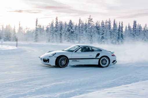"Porsche Driving Experience ""Ice Force"" in Levi, Finnland - Porsche 911 Turbo S 991.2"