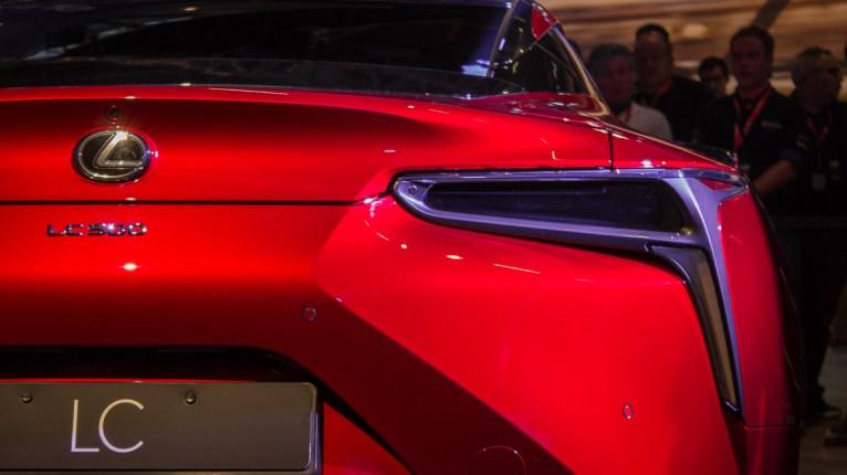 Lexus LC 500 Deutschlandpremiere Nürburgring Ring°Boulevard