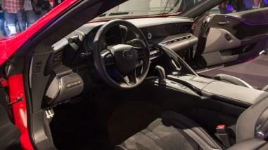 Lexus LC 500 Innenraum - Deutschlandpremiere am Nürburgring