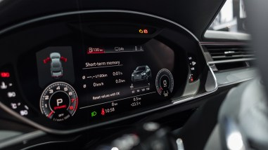 Virtual Cockpit im 2018 Audi A8