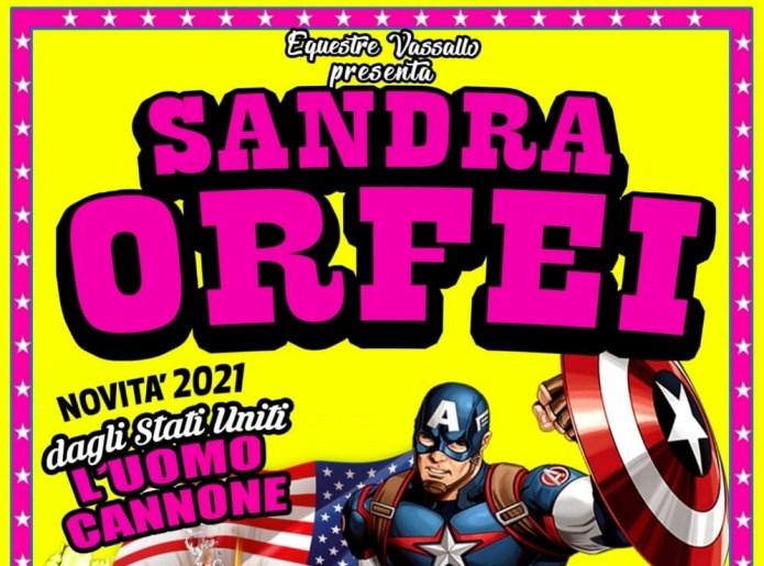 A Palermo il Circo Sandra Orfei di equestre Vassallo
