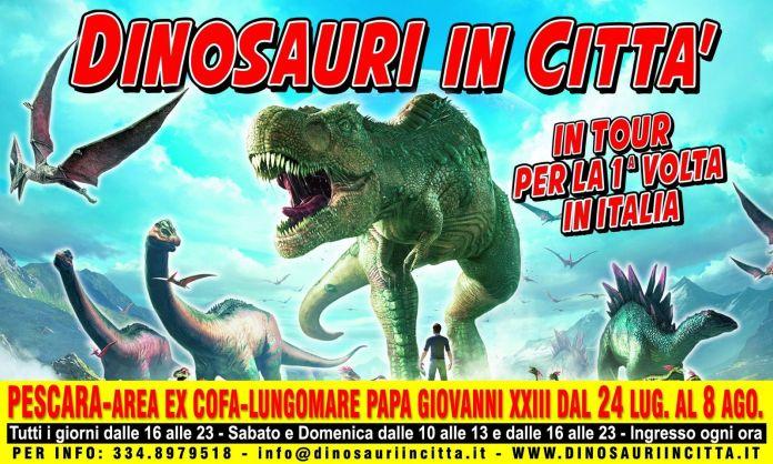 Dinosauri in Città a Pescara