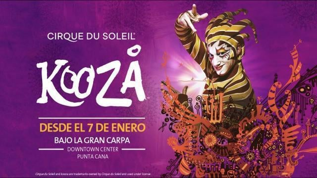 Kooza by Cirque du Soleil a Punta Cana