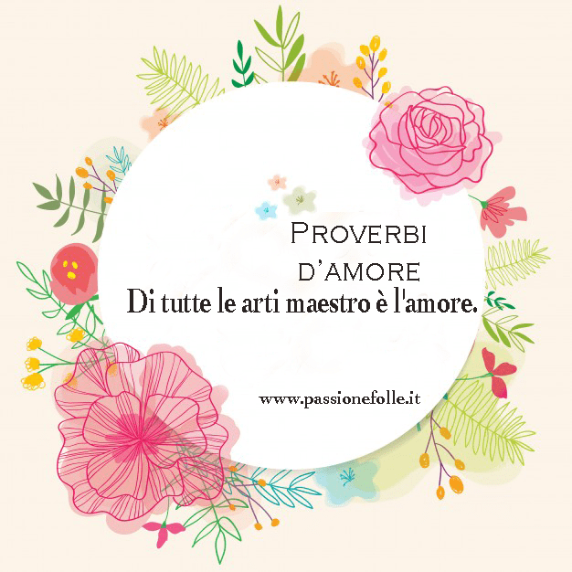 Proverbi d'amore