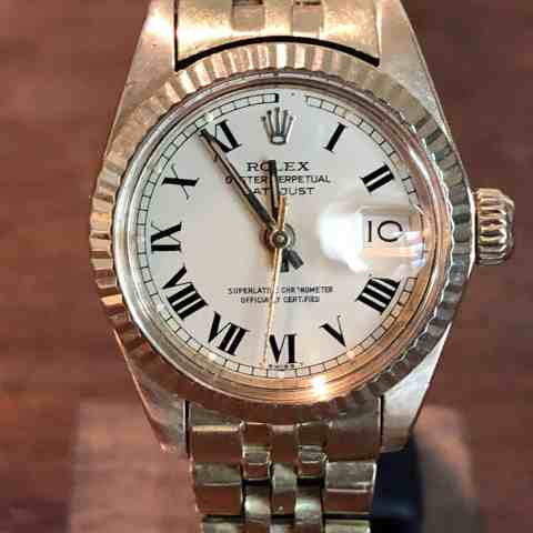 Rolex Lady-Datejust gold ref 6917