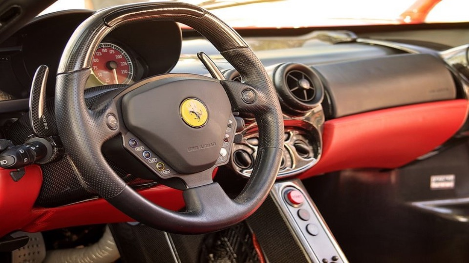 The Interior Of The Ferrari Enzo Is Both Stylish And Functional