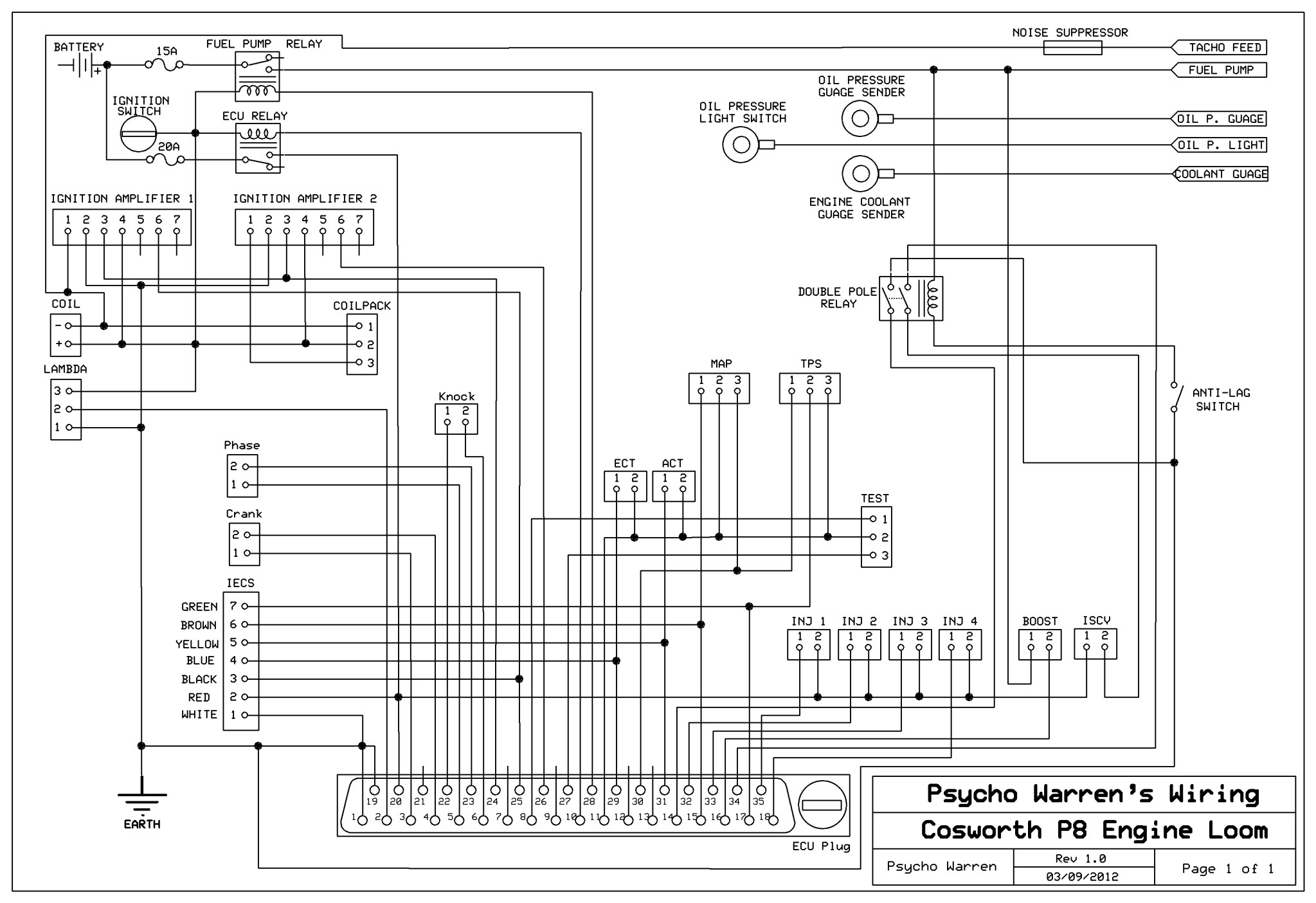 Ford Focu Coil Wire Diagram