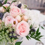 Elegant Wedding At Heath House Dusty Blue Pink Wedding Flowers Passion For Flowers