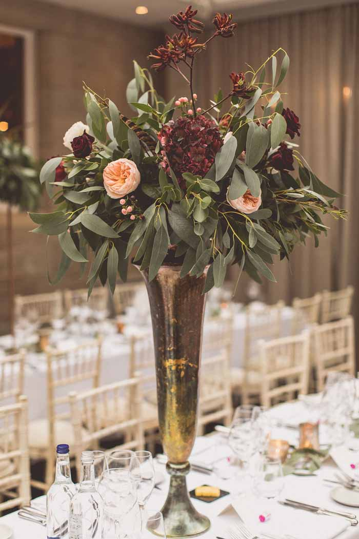 Tall Wedding Centrepieces Passion For Flowers