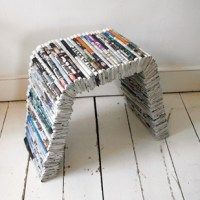 Oscar Lhermitte newspaper furniture