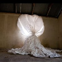 Christophe Piallat's paper and light