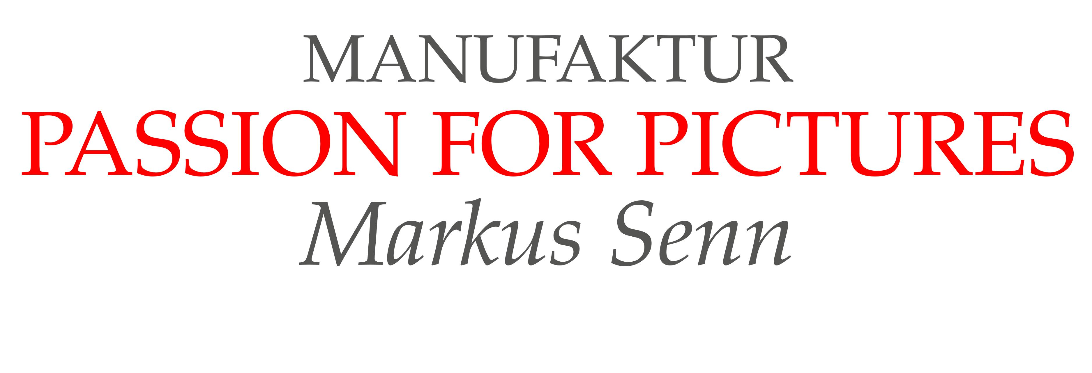 MANUFAKTUR PASSION FOR PICTURES      –   by  Markus Senn