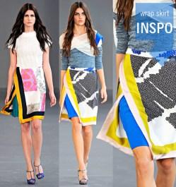 DIY-Scarf-Print-Wrap-Skirt-2