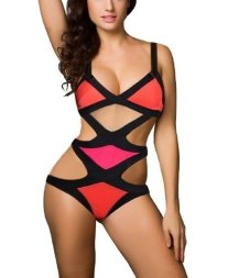 celeb-inspired-womens-one-piece-colorblock-multi-cut-out-bandage-monokini-strappy-swimsuit-push-up-bikini-set_3803466