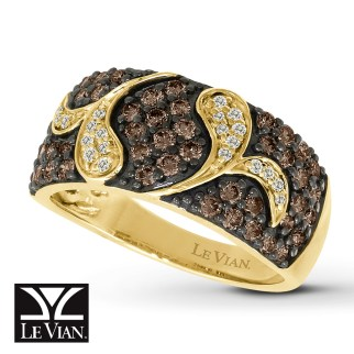 chocolate-diamond-band-rings-kayoutlet-levian-chocolate-diamonds-1-ct-tw-ring-14k-honey-gold
