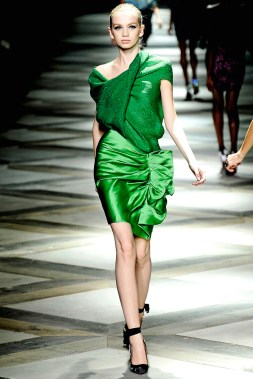 PARIS fashion week september 2008 LANVIN Ready to wear spring summer 2009