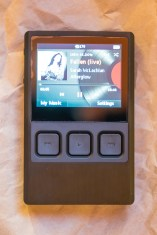 iBasso DX90 screen on