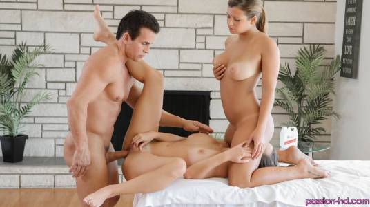 Passion Hd Keisha Grey & Lily Love in Massage Orgy 4