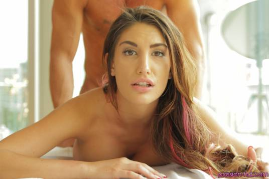 Passion HD August Ames in Full Body Rub Down 11
