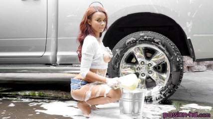 Passion-Hd Raven Redmond in Car Wash Babe 4
