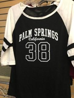Palm Springs Jersey Black/White
