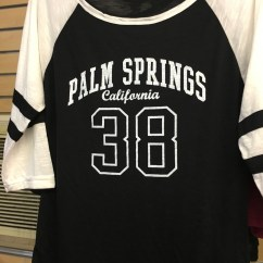Palm Springs Jersey Black/White