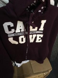Cali Love Burgundy Jacket