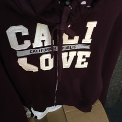 Cali Love Burgundy Jacket