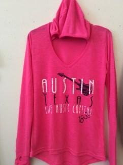 Austin Texas Pink Girls Shirt