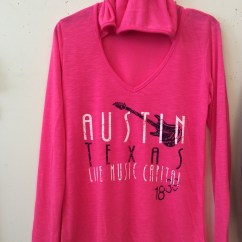 Austin Texas Pink Girls Shirt