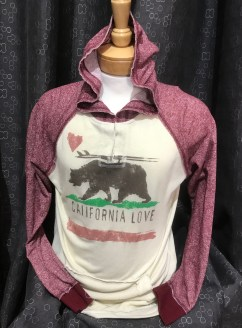 California Love Jacket (Pink/White). Newest style for this season!