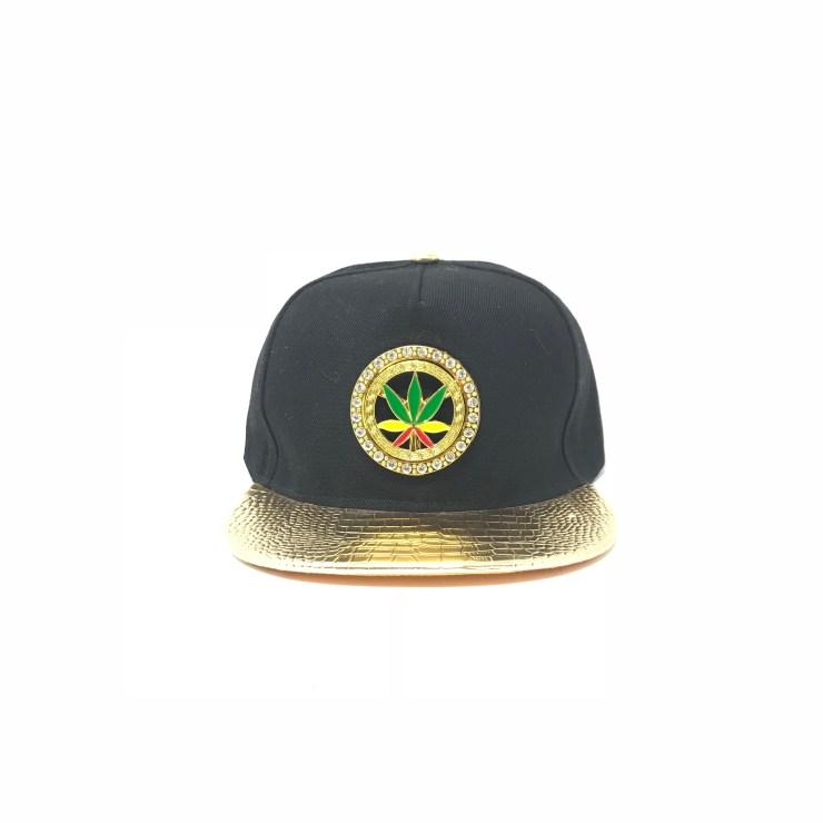 Marijuana Symbol Cap (Golden Lid) Image