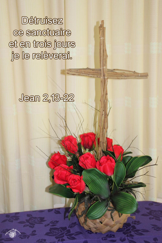 Commentaire de Jean 2,13-22