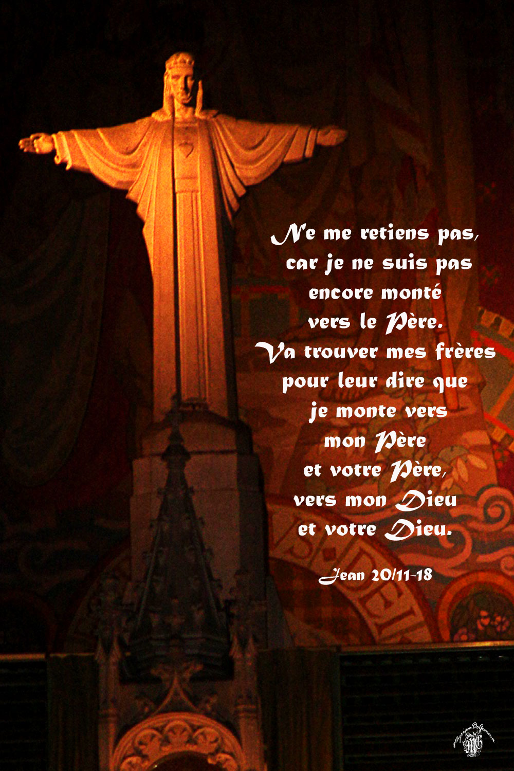 Commentaire Jean 20,11-18.