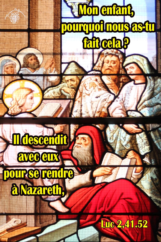 Commentaire de Luc 2,41.52