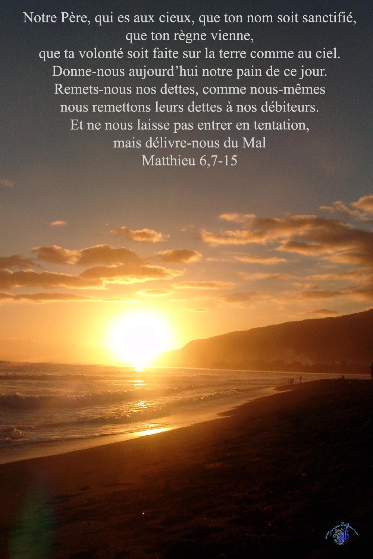 Commentaire de Matthieu 6,7-15