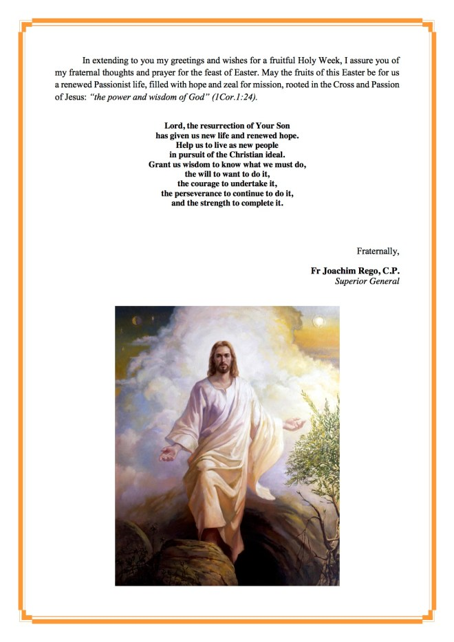 Sup Gen Easter Message 2016 English4