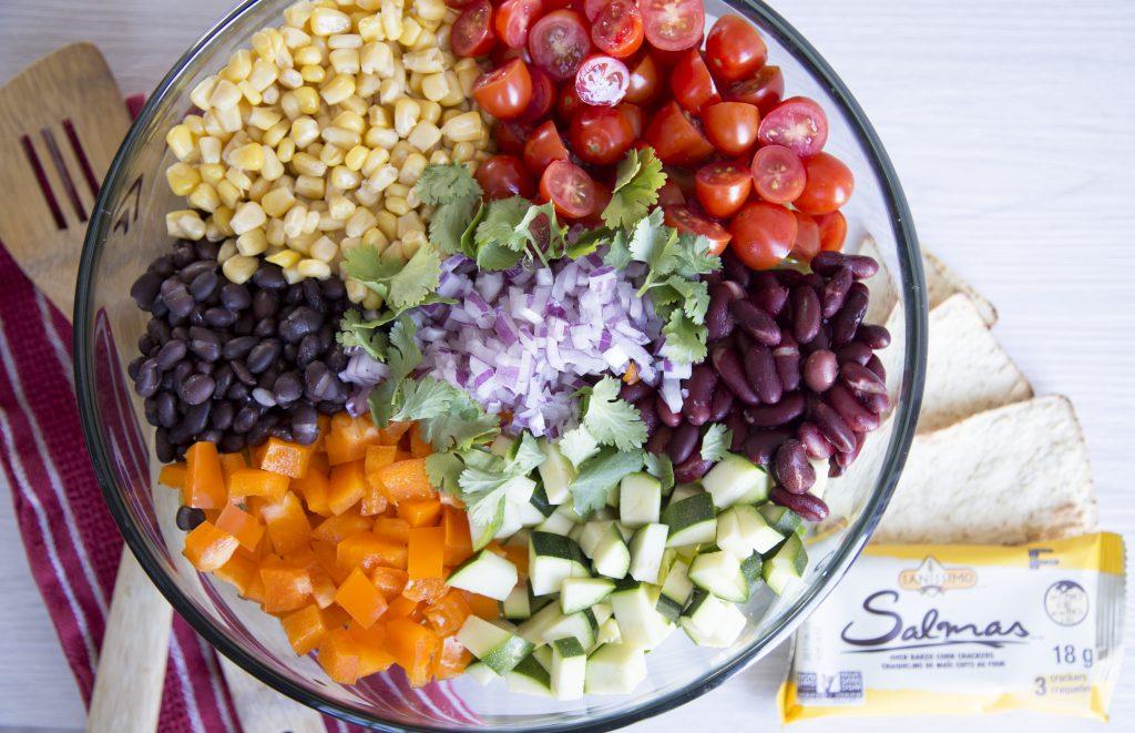 SaladeMexicaine-Cinq Fourchettes